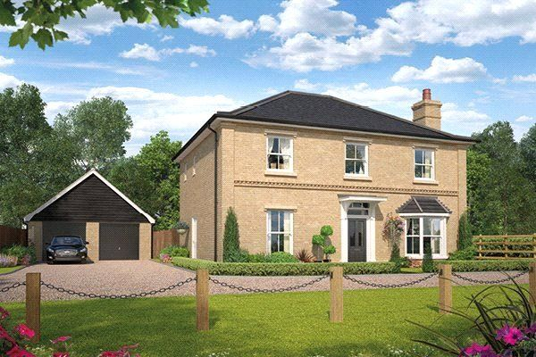 Detached house for sale in Kingley Grove, New Road, Melbourn, Royston, Cambridgeshire