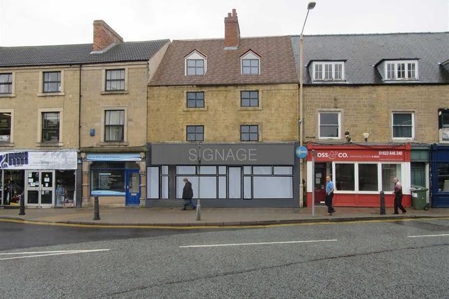 Retail premises to let in Albert Street, Mansfield, Nottinghamshire
