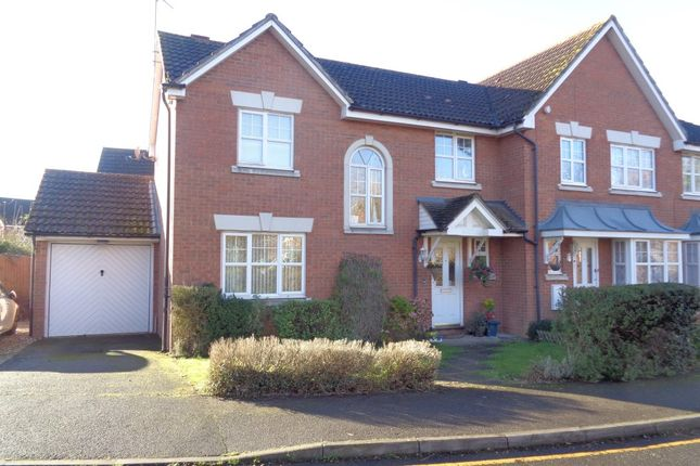 Thumbnail Semi-detached house to rent in Friarscroft Way, Aylesbury