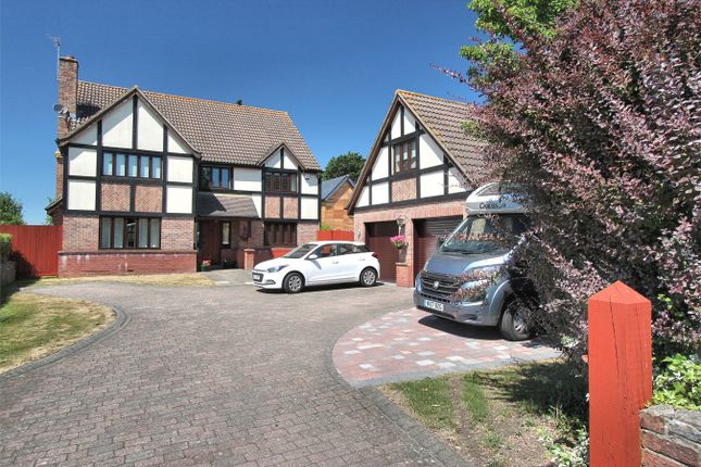 Thumbnail Detached house for sale in Down Road, Alveston, Bristol