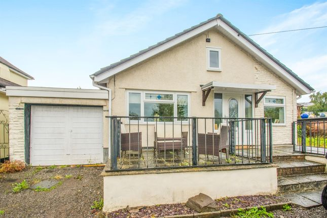 Thumbnail Detached bungalow for sale in Mount Pleasant Road, Pontnewydd, Cwmbran