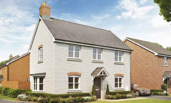Thumbnail End terrace house for sale in The Ennis, The Orchard, Welford Road, Long Marston, Warwickshire