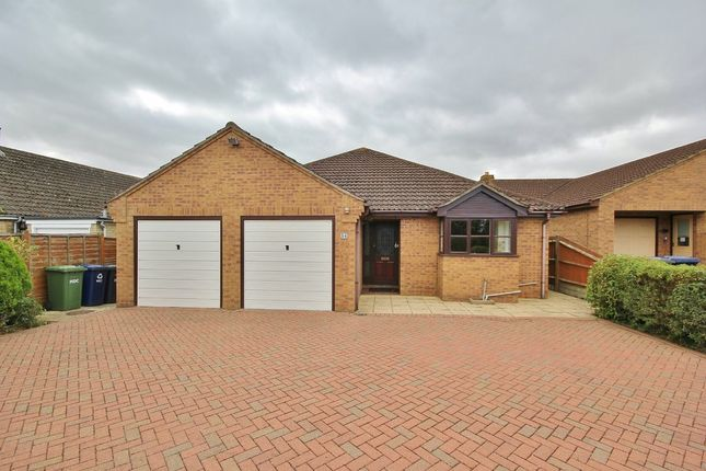 Thumbnail Detached bungalow to rent in Sapley Road, Hartford, Huntingdon