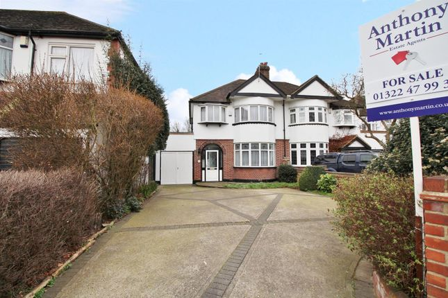 Thumbnail Semi-detached house for sale in Blendon Road, Bexley