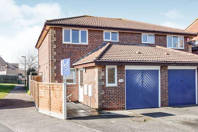 Thumbnail Semi-detached house to rent in Satinwood Close, Middleton-On-Sea, Bognor Regis