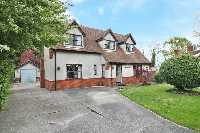 Thumbnail Detached house for sale in Harwich Road, Wix, Manningtree, Essex