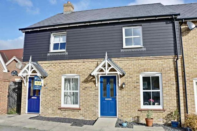 Thumbnail Terraced house for sale in Woolston Place, Sherfield-On-Loddon, Hook