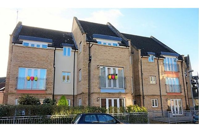Thumbnail Flat to rent in Flawn Way, St. Neots
