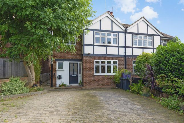 Thumbnail Semi-detached house for sale in Pepys Road, West Wimbledon