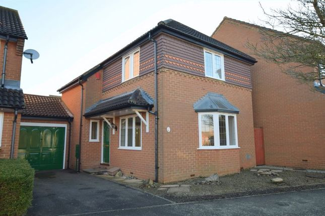 3 bed link-detached house for sale in Wallinger Drive, Shenley Brook End, Milton Keynes