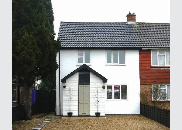 Thumbnail Semi-detached house for sale in Fordwater Road, Chertsey