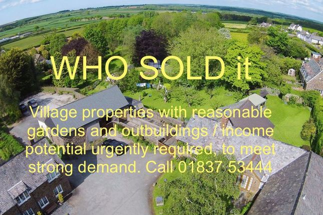 Thumbnail Property for sale in The Square, Sheepwash, Beaworthy