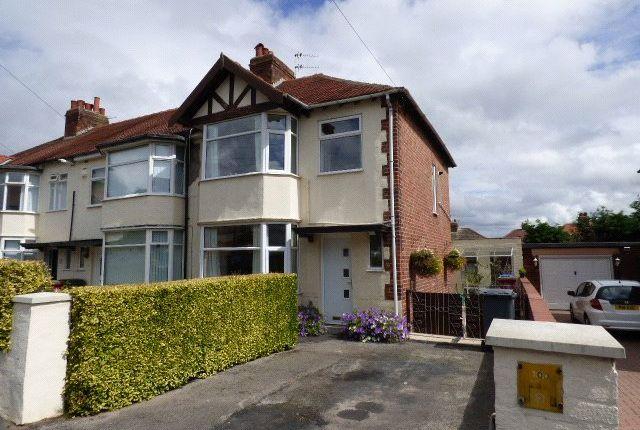 Thumbnail End terrace house to rent in Sandhurst Avenue, Blackpool, Lancashire