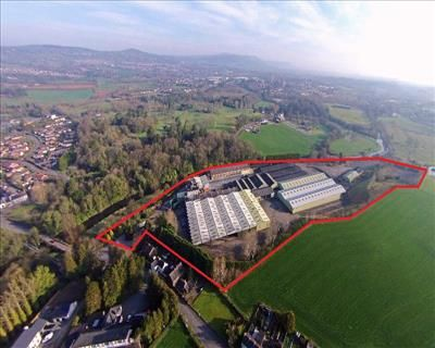 Thumbnail Warehouse for sale in 1 The Green, Tullynacross Road, Lisburn, County Antrim