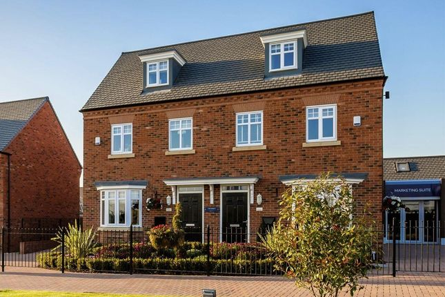 Thumbnail Semi-detached house for sale in The Kennett, St Mary's Gate, Stafford