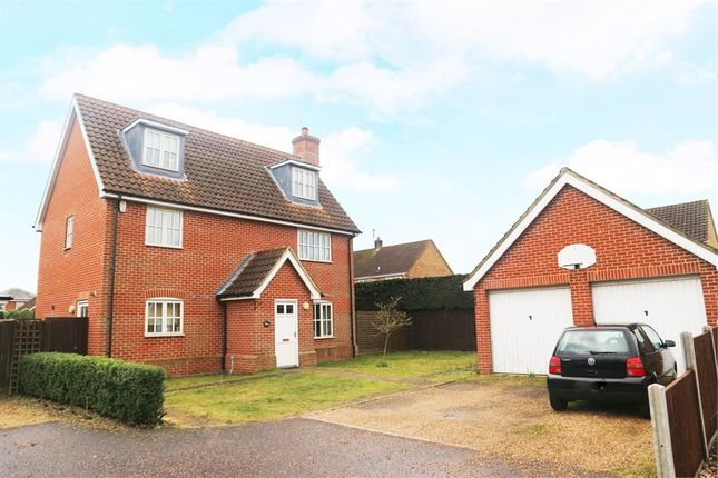 Thumbnail Detached house for sale in The Howards, North Wootton, King's Lynn, Norfolk