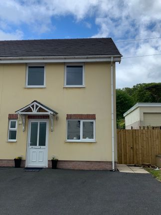 Thumbnail Semi-detached house to rent in Heol Y Gors, Cwmgors, Ammanford