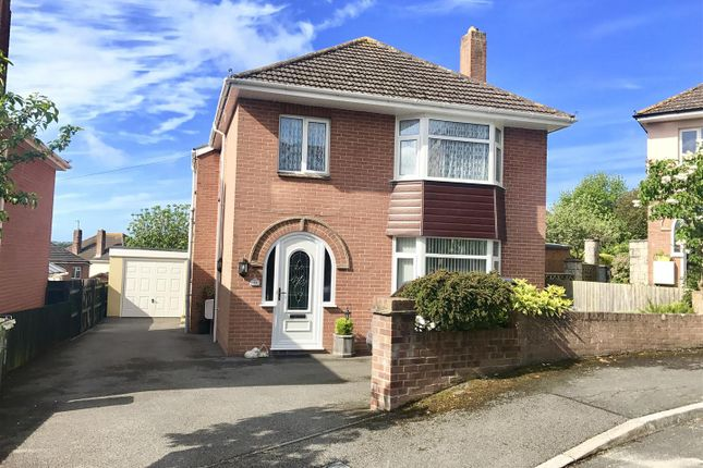 Thumbnail Detached house for sale in Coniston Crescent, Weymouth