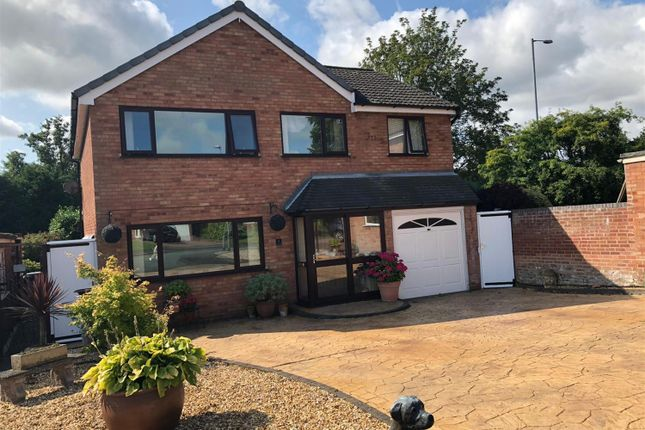 Thumbnail Detached house to rent in The Croft, Longdon, Rugeley