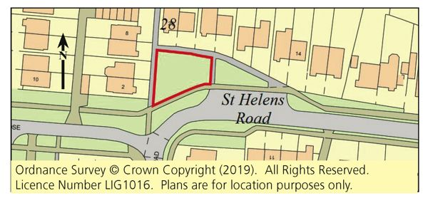 Thumbnail Land for sale in Land St Helens Road, Gosport, Hampshire