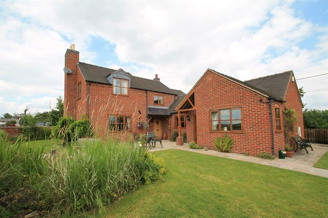 Thumbnail Detached house for sale in Ashbourne Road, Church Broughton, Derby