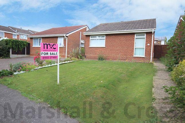 Thumbnail Detached bungalow for sale in Kilborn Road, Wellingborough, Northamptonshire.