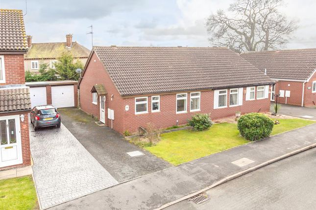 Thumbnail Semi-detached bungalow for sale in Leafields, Shrewsbury