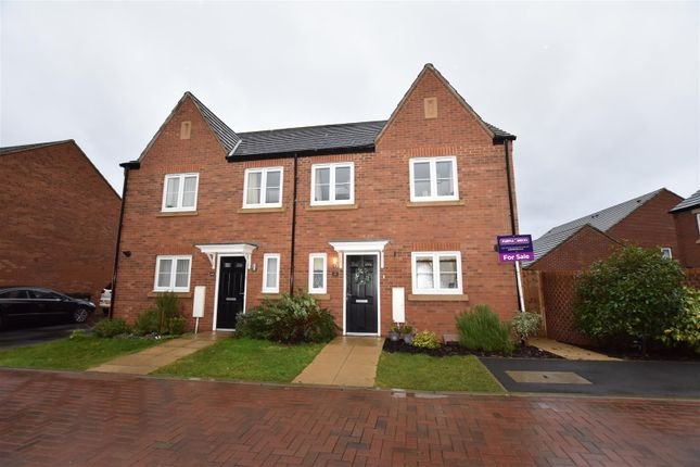 Thumbnail Semi-detached house for sale in Broad Way, Upper Heyford, Bicester