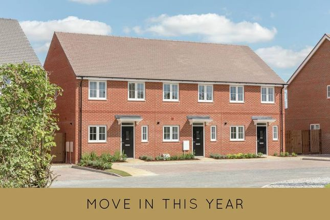 "Thumbnail Terraced house for sale in ""The Gosfield"" at Millars Close, Main Street, Grendon Underwood, Aylesbury"