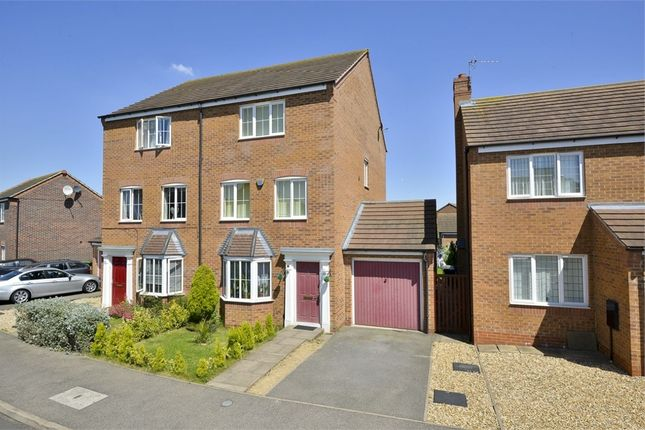 Thumbnail Semi-detached house for sale in Nash Close, Corby, Northamptonshire