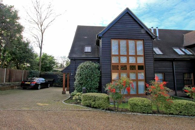 Thumbnail End terrace house to rent in Beaumont Mews, High Street, Pinner