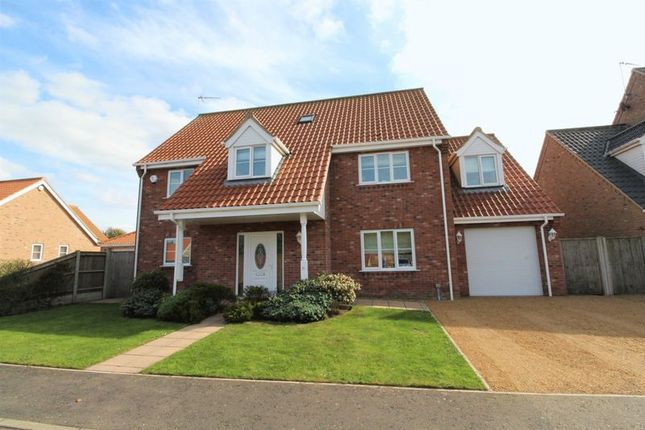 Thumbnail Detached house for sale in Mulberry Tree Close, Filby, Great Yarmouth