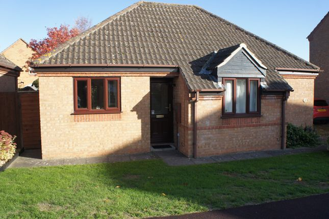 Thumbnail Detached bungalow to rent in Churchfield Road, Folkingham, Sleaford