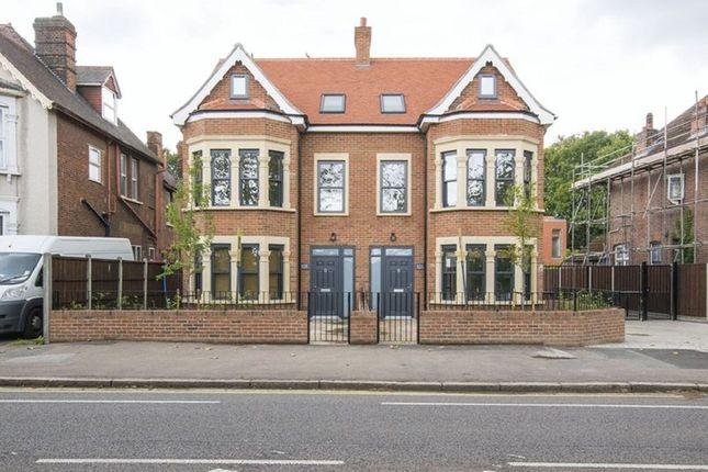 Thumbnail Flat to rent in Aldersbrook Road, London