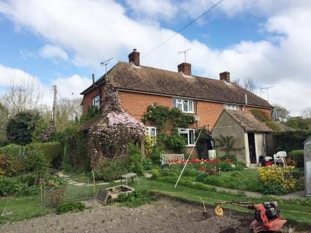 Thumbnail Semi-detached house for sale in 1 Lacton Manor Cottages, Charing Lane, Westwell, Ashford, Kent