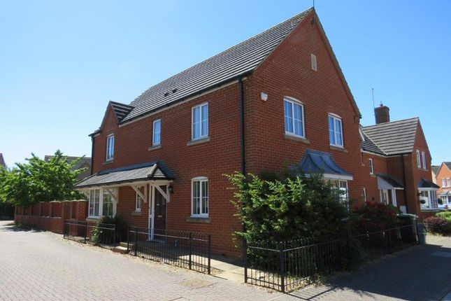 Thumbnail Detached house for sale in Tern Road, Hampton Hargate, Peterborough