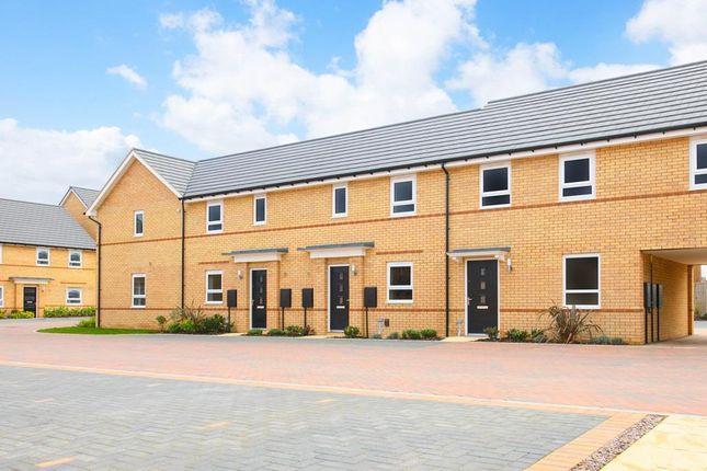 "Thumbnail End terrace house for sale in ""Amber"" at Watling Street, Little Brickhill, Milton Keynes"