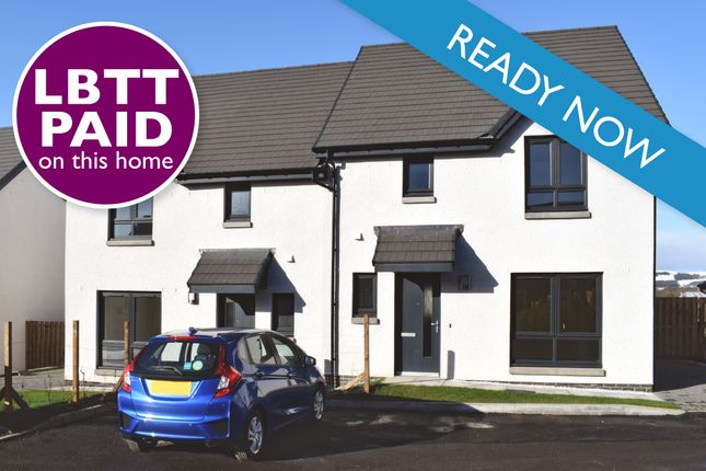 Thumbnail Semi-detached house for sale in Lathro Farm, Off The A922/South Street, Kinross