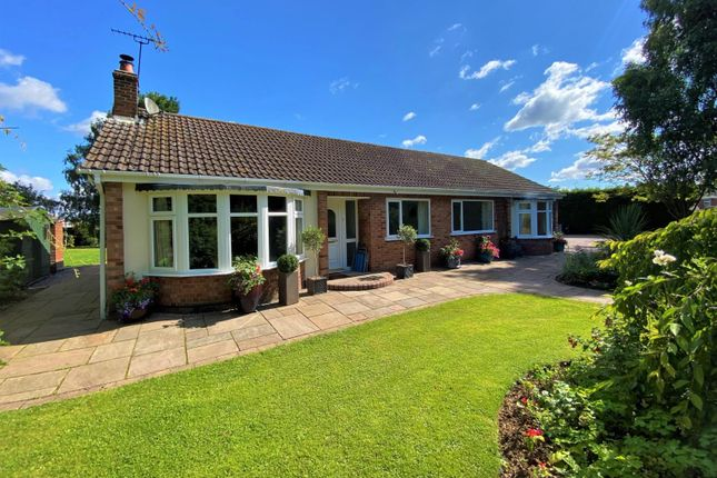 Thumbnail Detached bungalow for sale in Station Road, Castle Bytham, Grantham