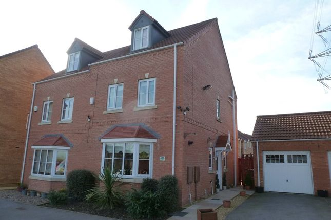 Thumbnail Semi-detached house for sale in Springfield Road, Lofthouse, Wakefield
