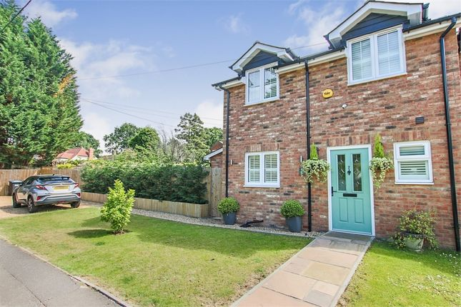 Thumbnail 3 bed semi-detached house for sale in Sandy Lane, Crawley Down, West Sussex