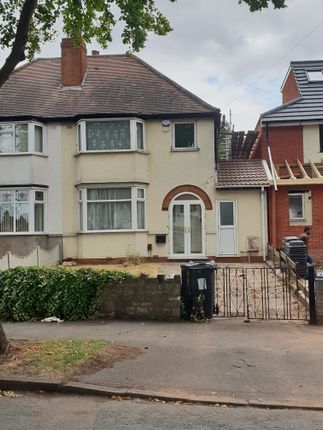 Thumbnail Semi-detached house to rent in Southern Drive, Alum Rock, Birmingham, West Midlands