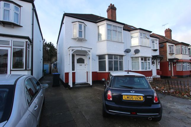 Thumbnail Semi-detached house for sale in Oldborough Road, Wembley