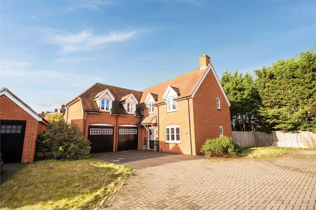 Thumbnail Detached house for sale in Harrow Drive, Headley, Thatcham, Hampshire