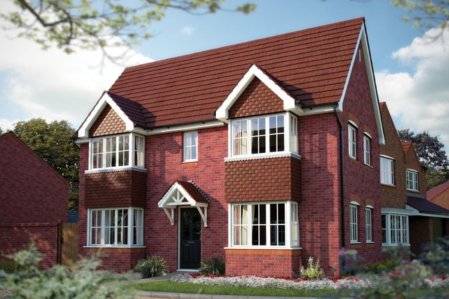 "Thumbnail Detached house for sale in ""The Sheringham"" at Weaver Brook Way, Wrenbury, Nantwich"