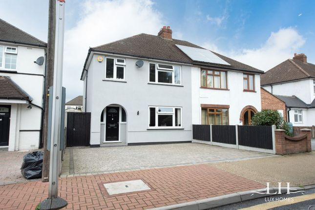 Thumbnail Semi-detached house for sale in Bevan Way, Hornchurch