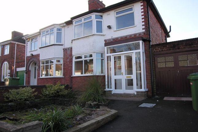 Thumbnail Semi-detached house to rent in Fancourt Avenue, Penn, Wolverhampton