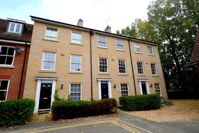 Thumbnail Terraced house to rent in Groves Close, Colchester