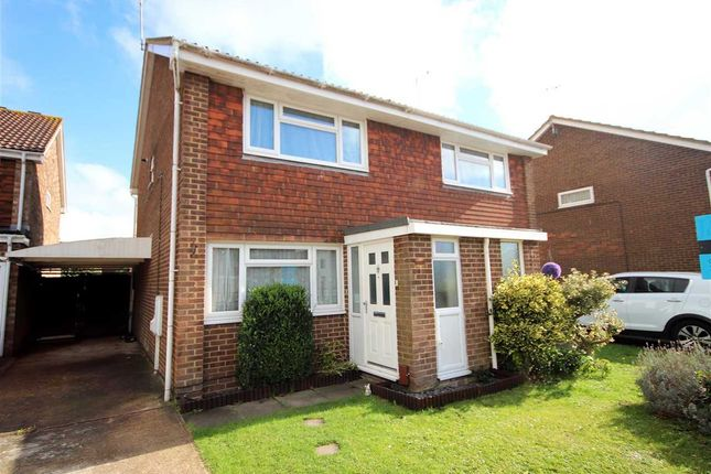 Thumbnail Semi-detached house for sale in Montreal Way, Worthing