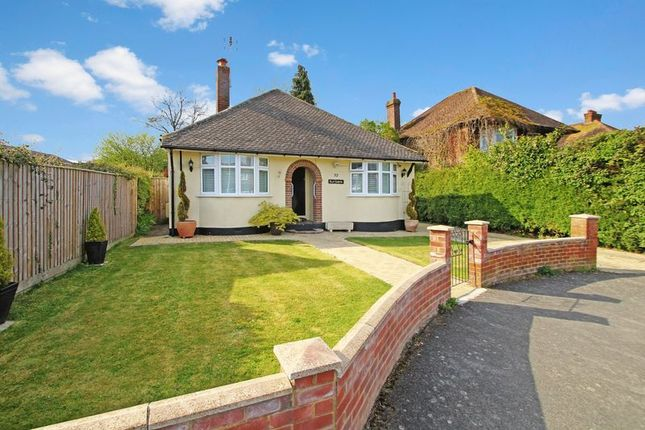 Thumbnail Detached bungalow for sale in Rushmoor Avenue, Hazlemere, High Wycombe